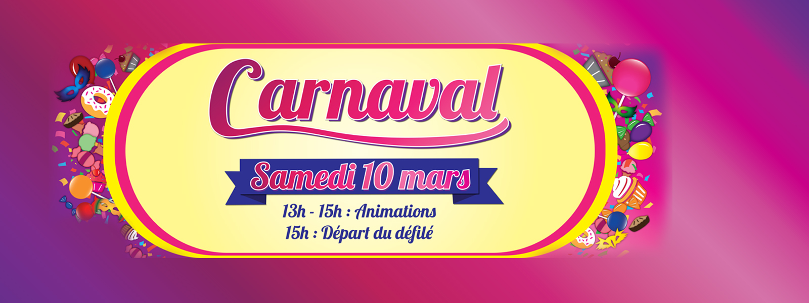 Carnaval au pays de la gourmandise site officiel de for Garage auto bussy saint georges